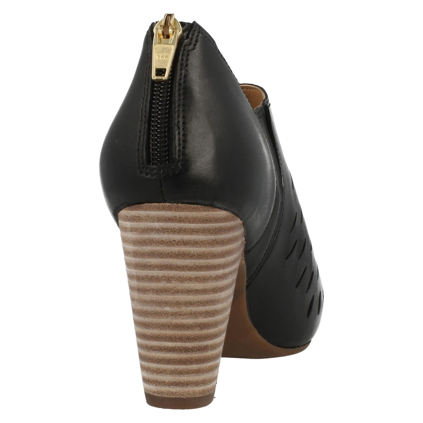 Ladies-Clarks-Peep-Toe-Heeled-Mules-Okena-Posh