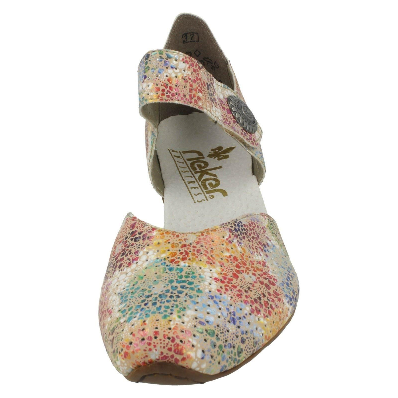 Womens Rieker Smart Mary Mary Mary Jane Style shoes - 43754 8032d1