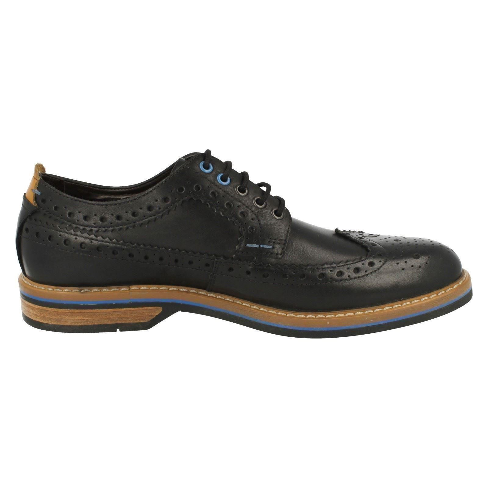 Herren Herren Herren Clarks Smart Casual Brogue Style Schuhes Pitney Limit 764a46
