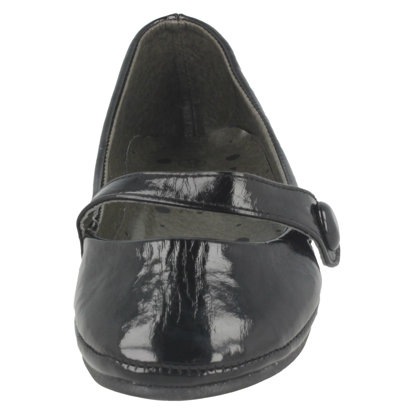 Chicas Bailarina Zapatos Planos punto en H2151