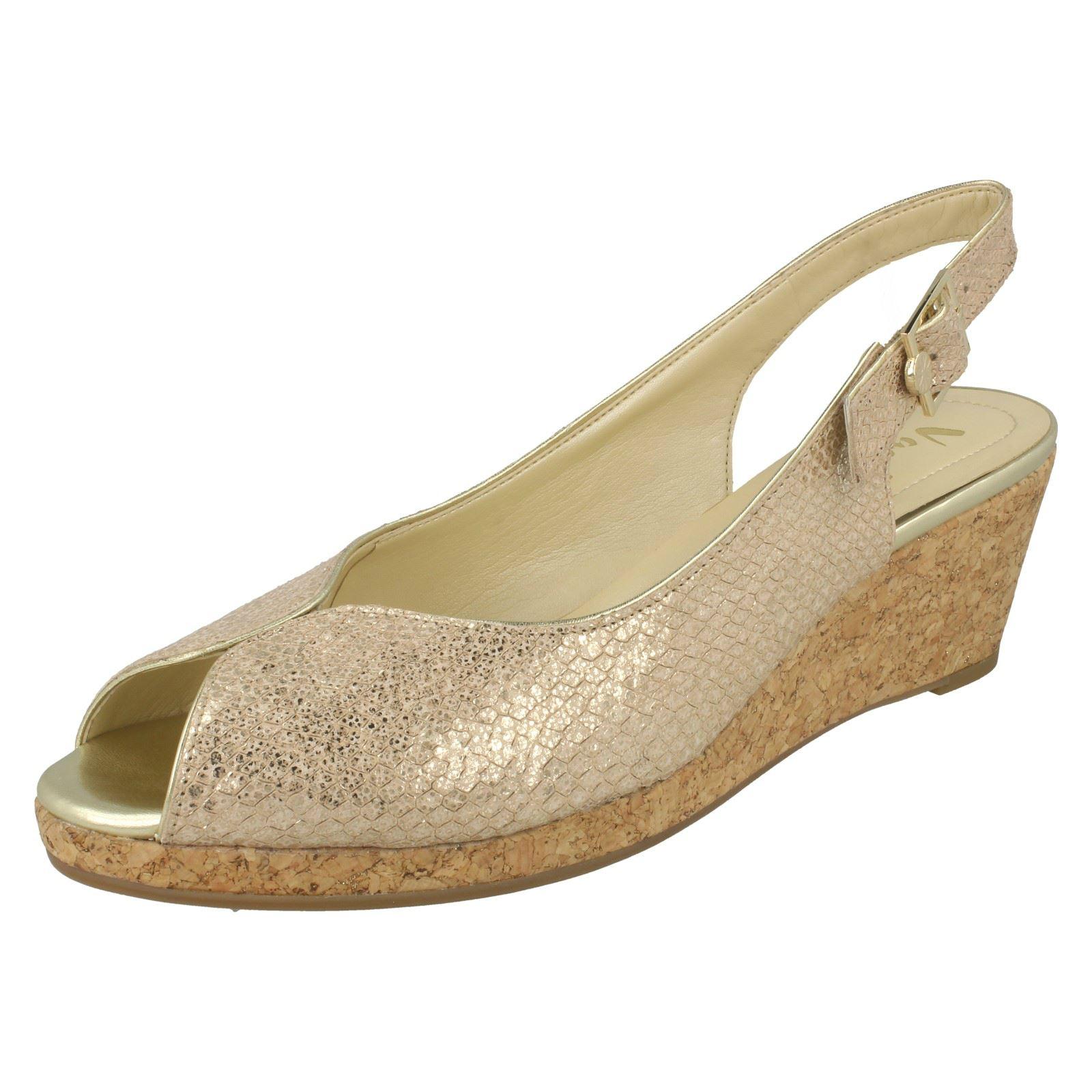 Ladies-Van-Dal-Cork-Wedge-Sandals-Gable thumbnail 9