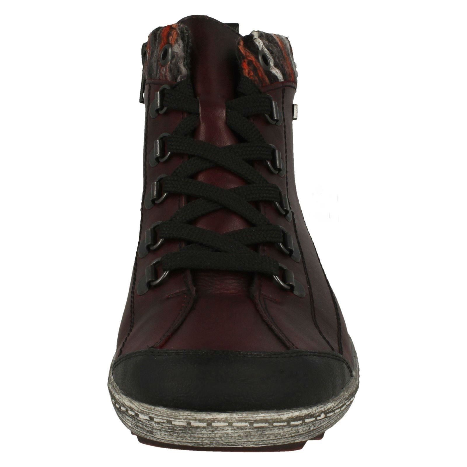 Womens Remonte Lace Lace Lace Up-Trainers R1495 d9f341