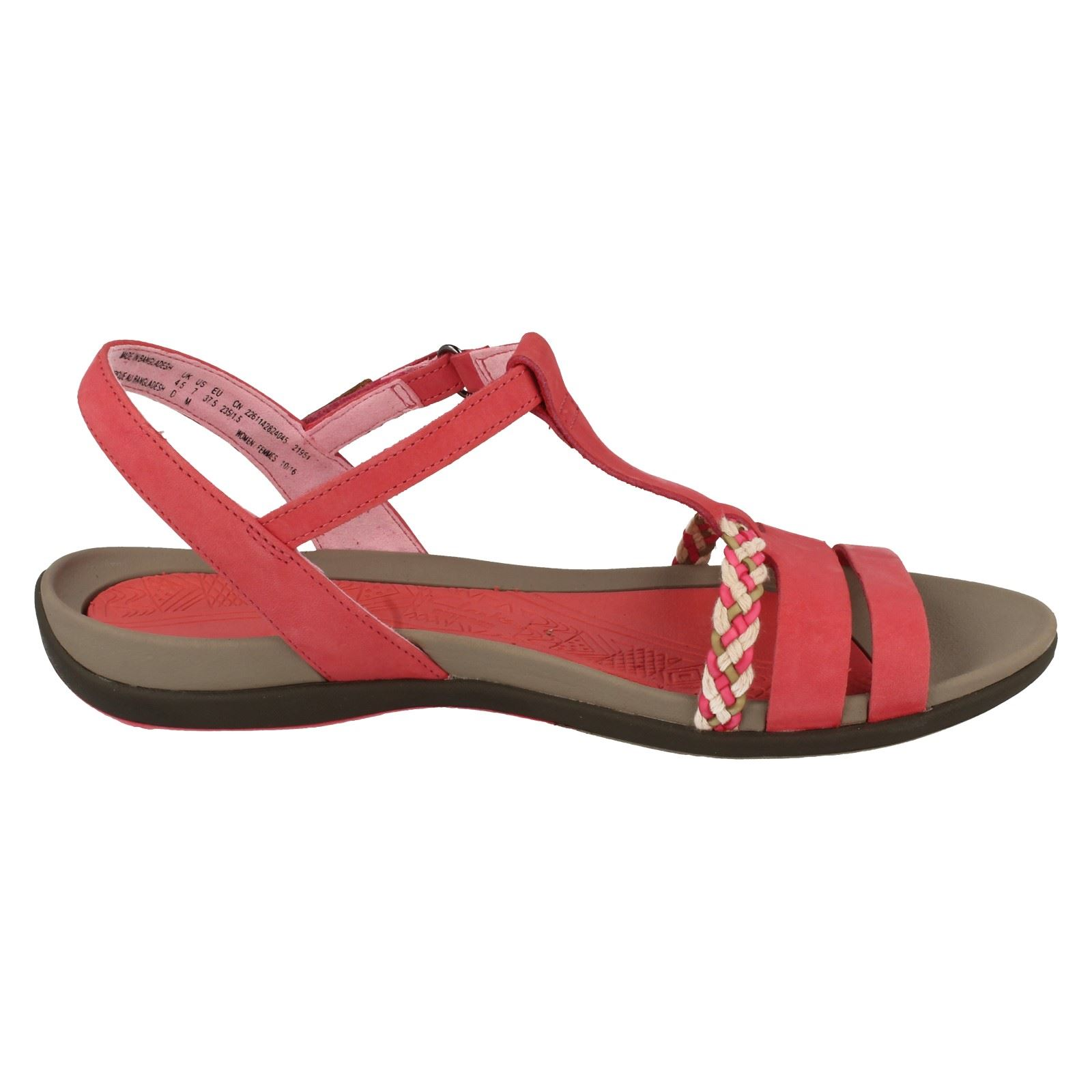 cff011e38f6 Ladies-Clarks-Casual-Summer-Sandals-Tealite-Grace thumbnail 4