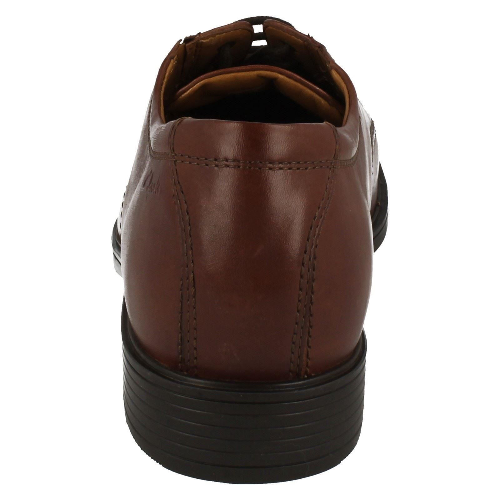 Mens-Clarks-Formal-Lace-Up-Shoes-Tilden-Cap thumbnail 18
