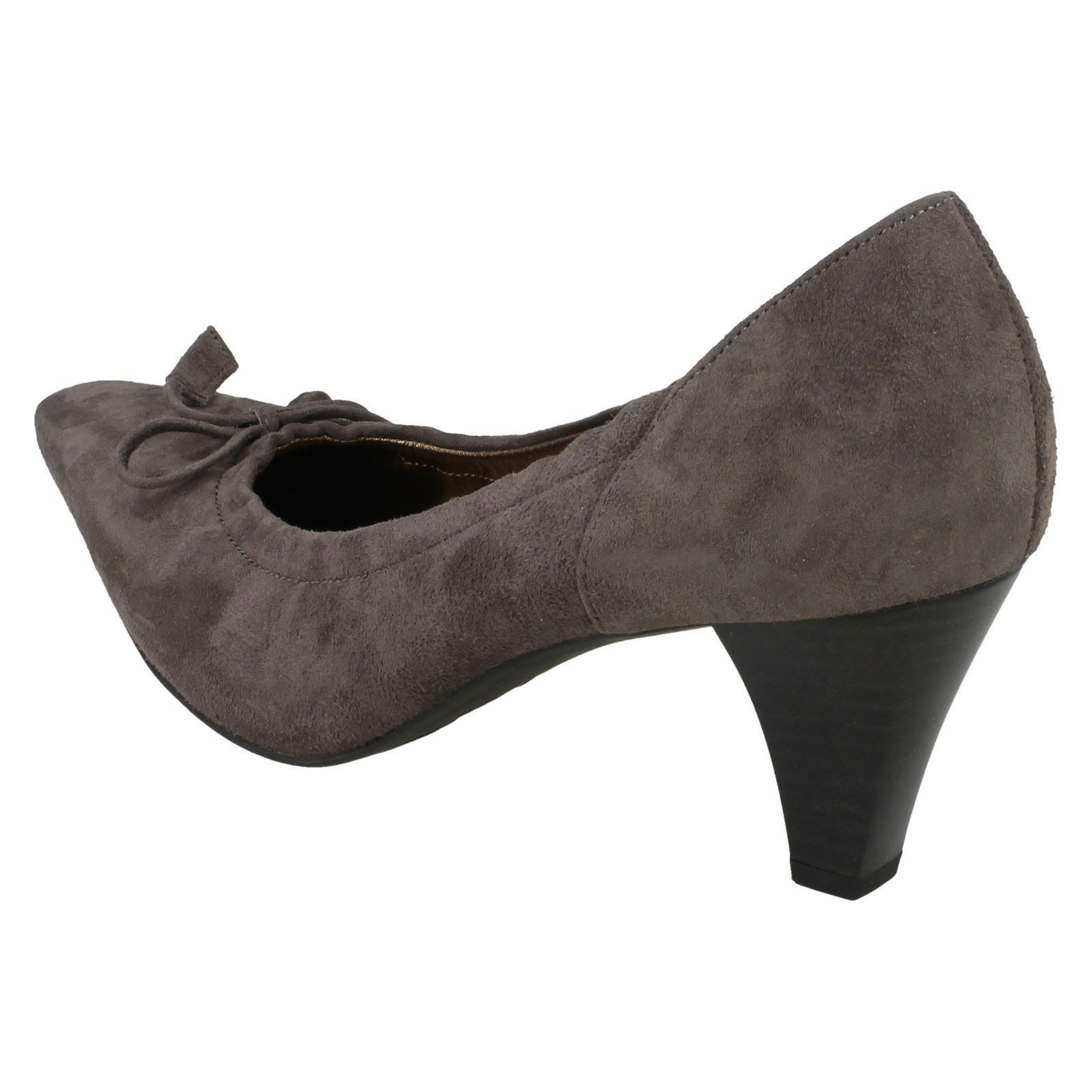 Ladies Meriel Kaiser scarpe grey Stahl Court Slip Peter On CnPZ4q5FF
