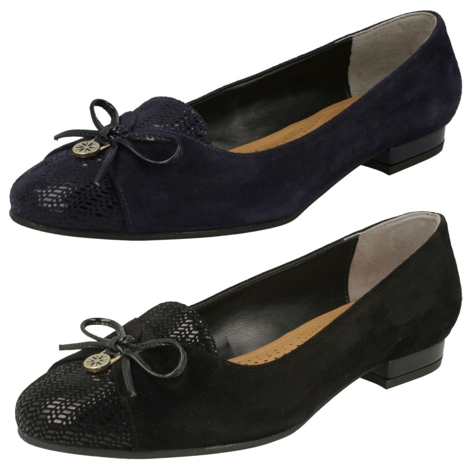 Details about Ladies Van Dal Flat Wide Fitting Flat Shoes  Seneca  af8c0b51c