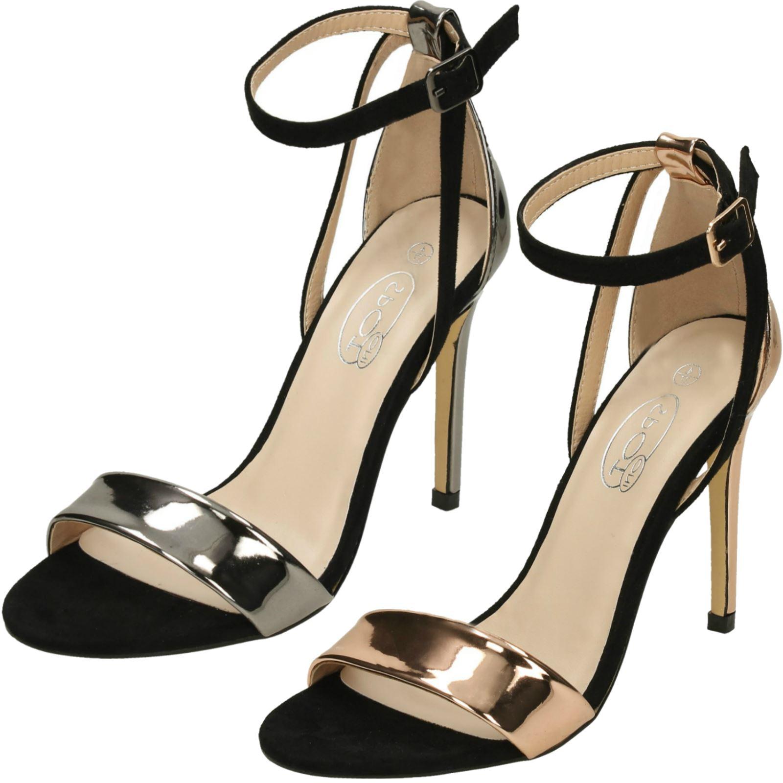 SPOT ON DONNA con tacchi sandali con cinturino