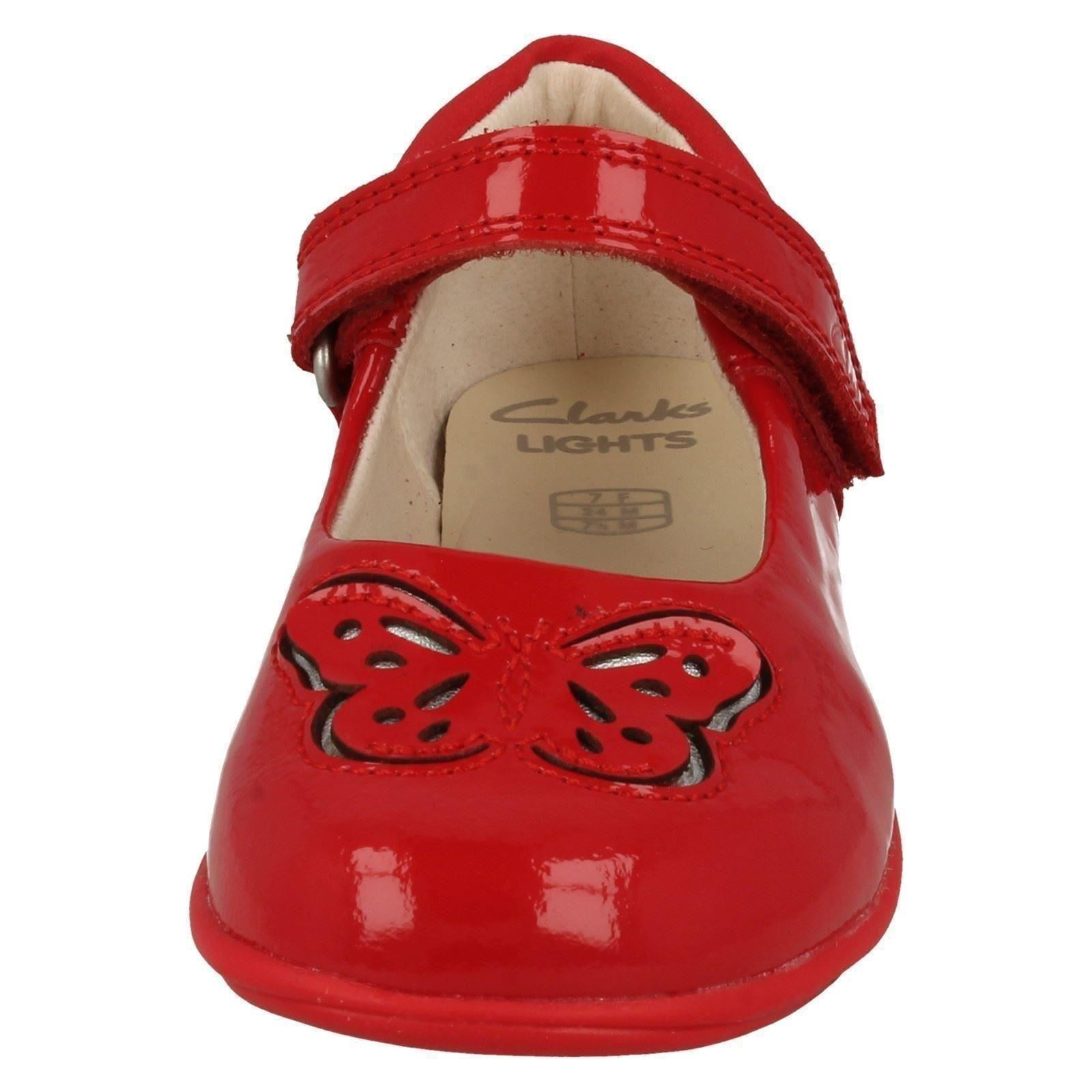 Girls Clarks Light Up Shoes /'Trixi Wish/'