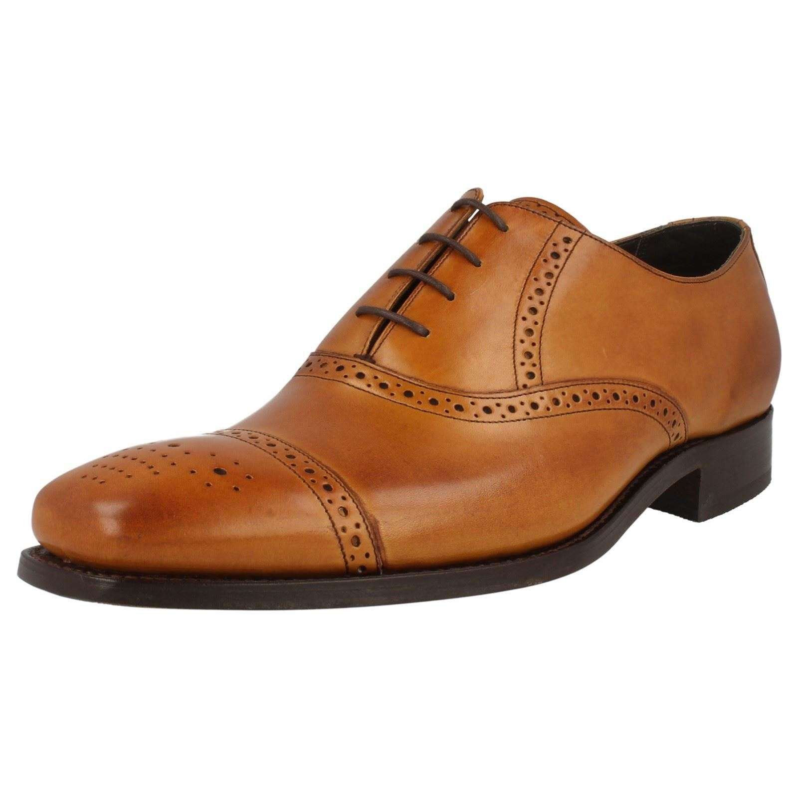 Uomo Schuhes Barker Lace Up Brogue Schuhes Uomo 'Flynn' a42197