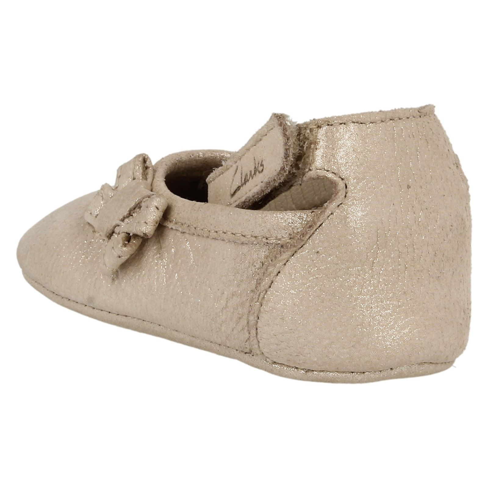 clarks baby girl pram shoes