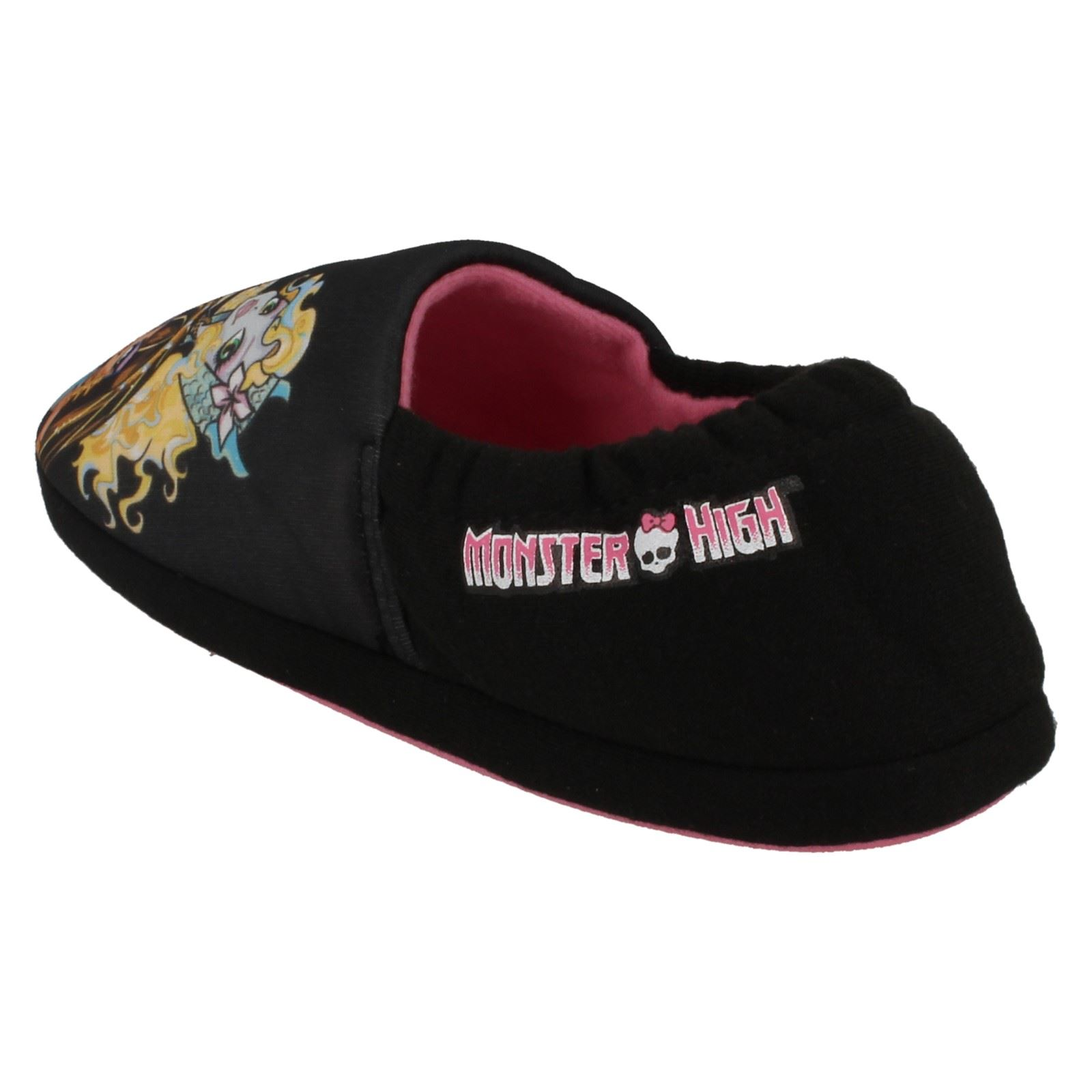 Chicas Casual Resbalón en Zapatillas De Mattel Monster High