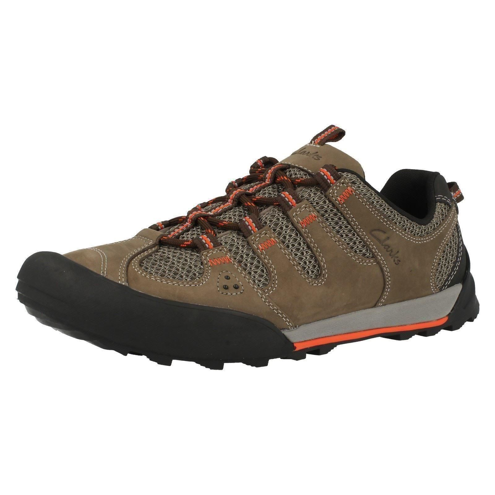 Mens Clarks Bctive Wear Trainers Outlay Compass