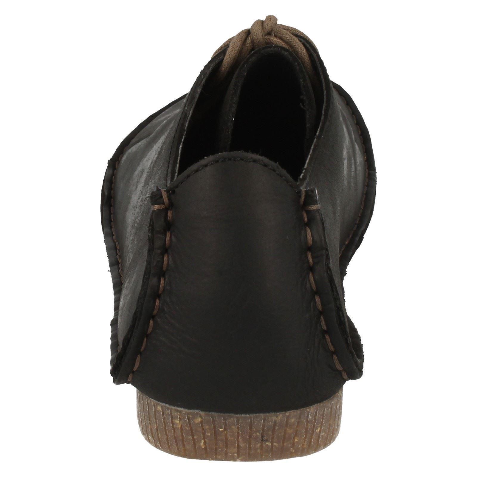 mujer para Black Janey Mae Zapatos con cordones Clarks qgHp1Sw4