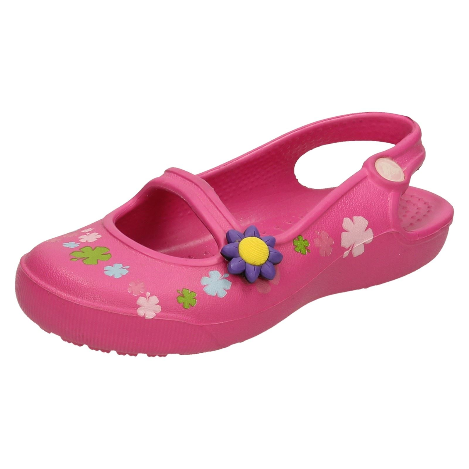 990297bc0 Girls Crocs Gabby Flowers Slip On Sandals