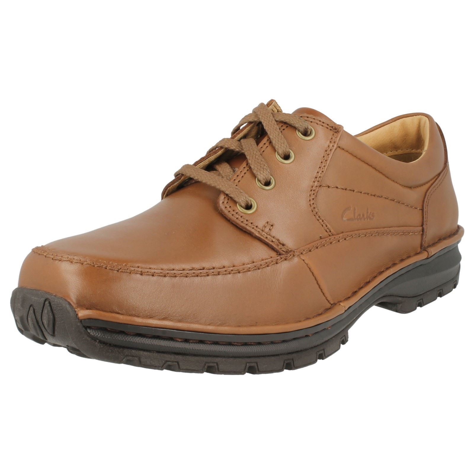 'Mens Clarks' Lace up shoes - Sidmouth Key