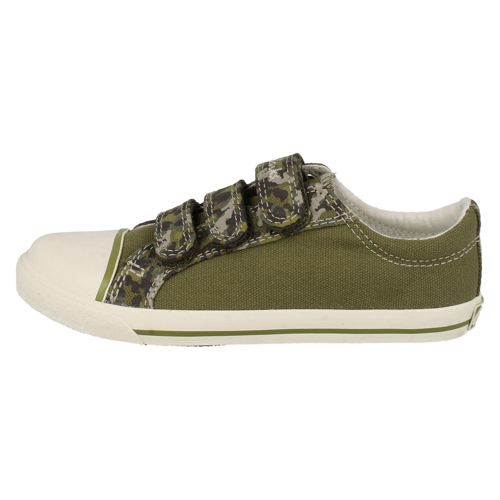 boys clarks canvas shoes happy chap inf ebay