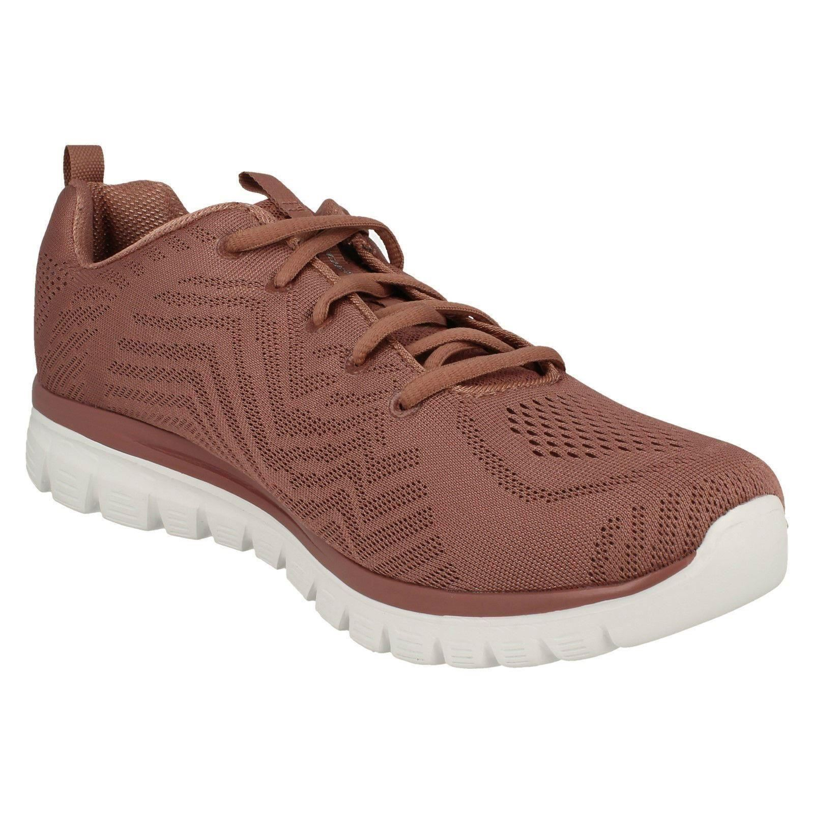 Casual Sketchers Ladies rosa Connected' Trainer 'get Mauve 57q4dqc