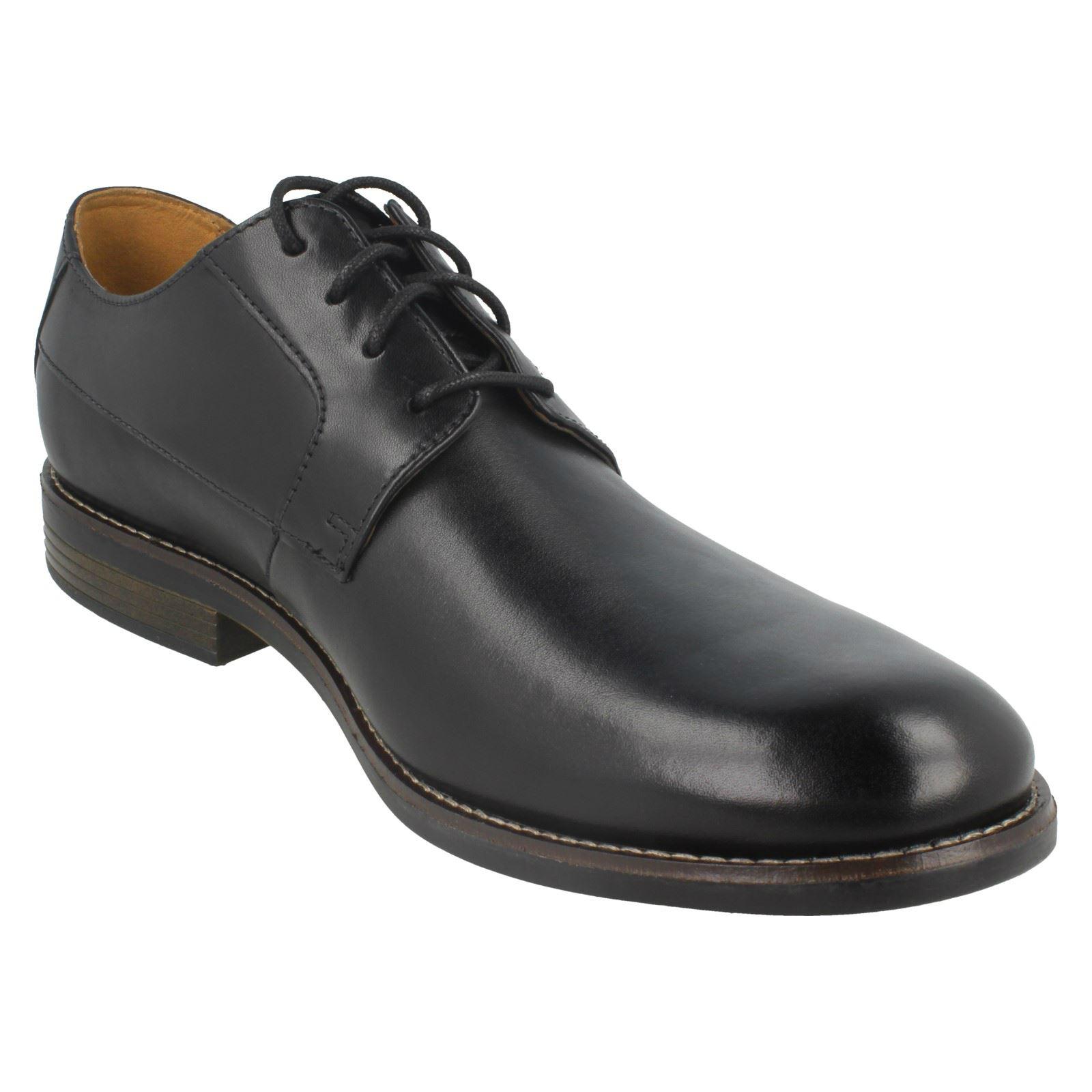 Da Uomo Clarks Smart Lacci Scarpe Becken Plain Scarpe classiche da uomo