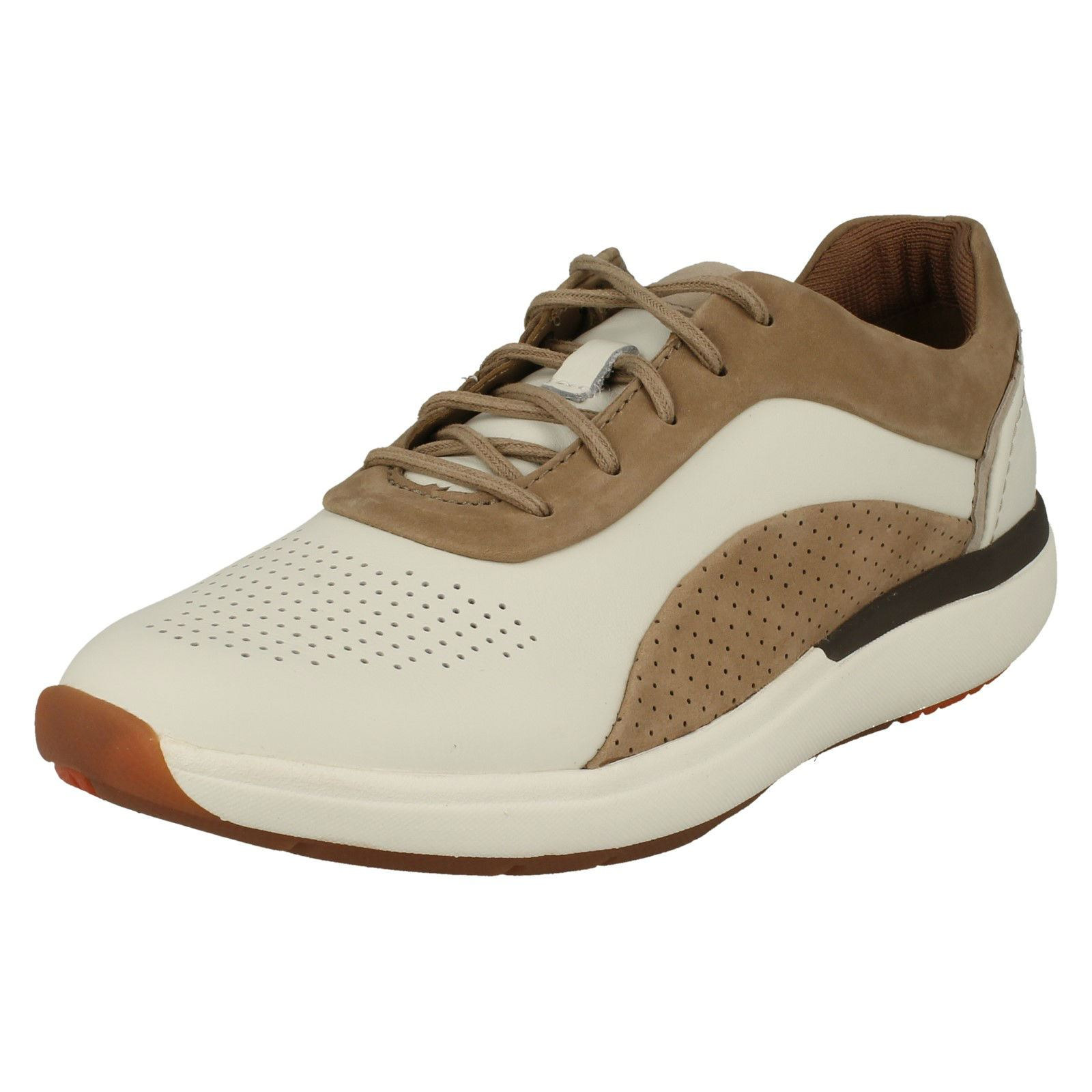 Ladies Clarks Casual Unstructured Trainers /'Un Cruise Lace/'