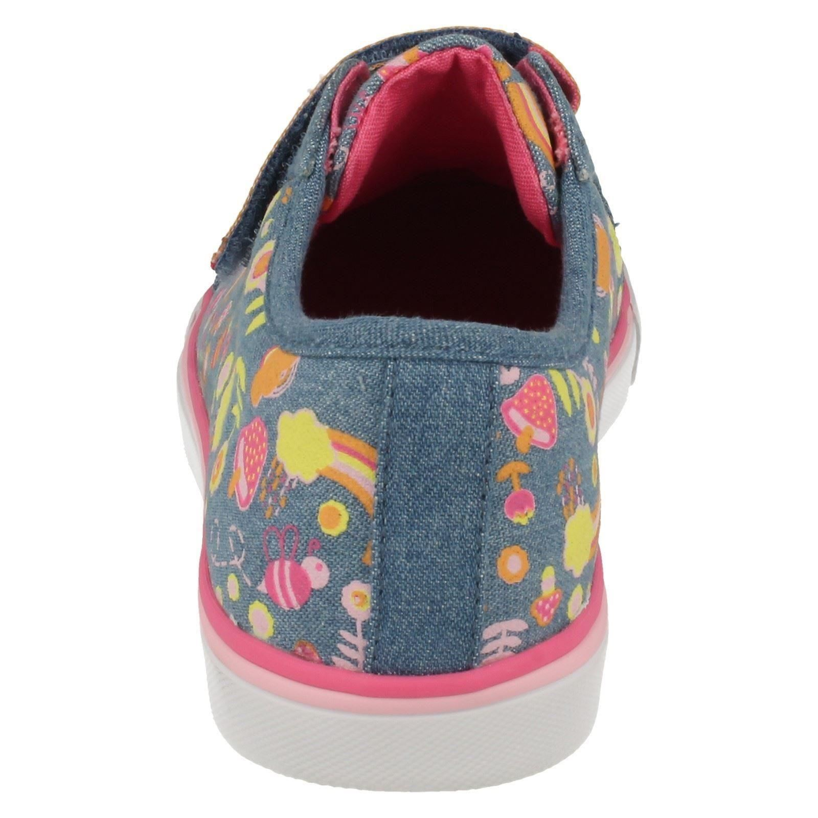 Girls Clarks Canvas Shoes Brill Doll