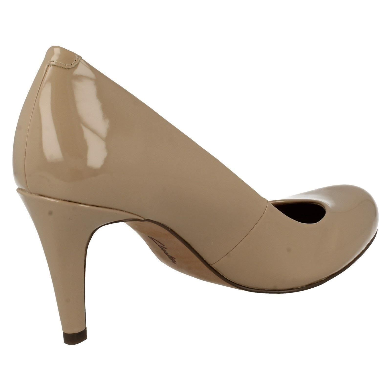Clarks Ladies Fashion Court Shoes Carlita Cove