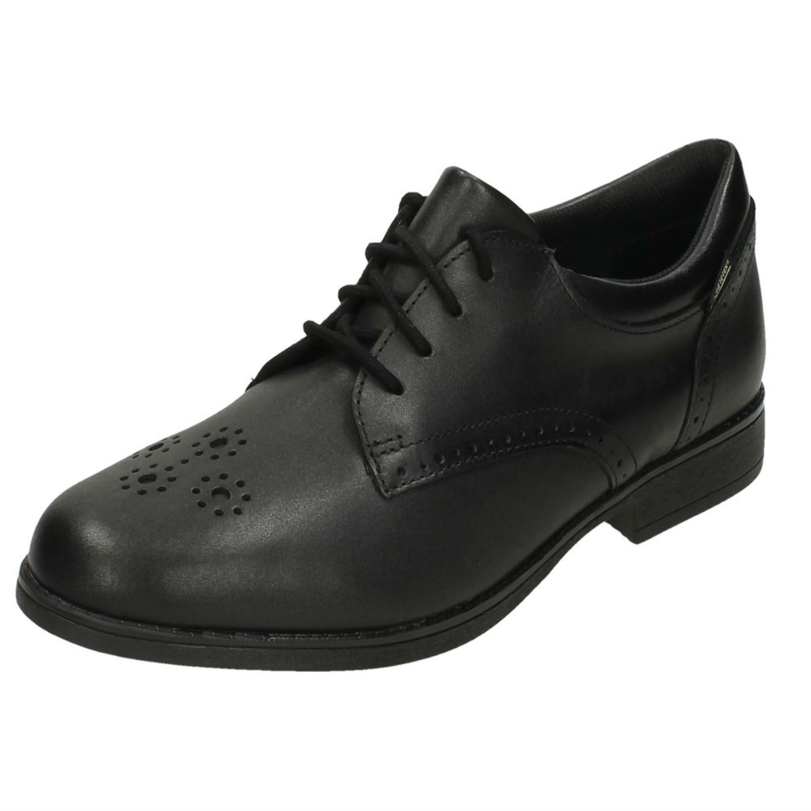 Clarks sami Black Brogue Por Fudge School Niñas pirata Shoes Gtx nYqExU7z7t