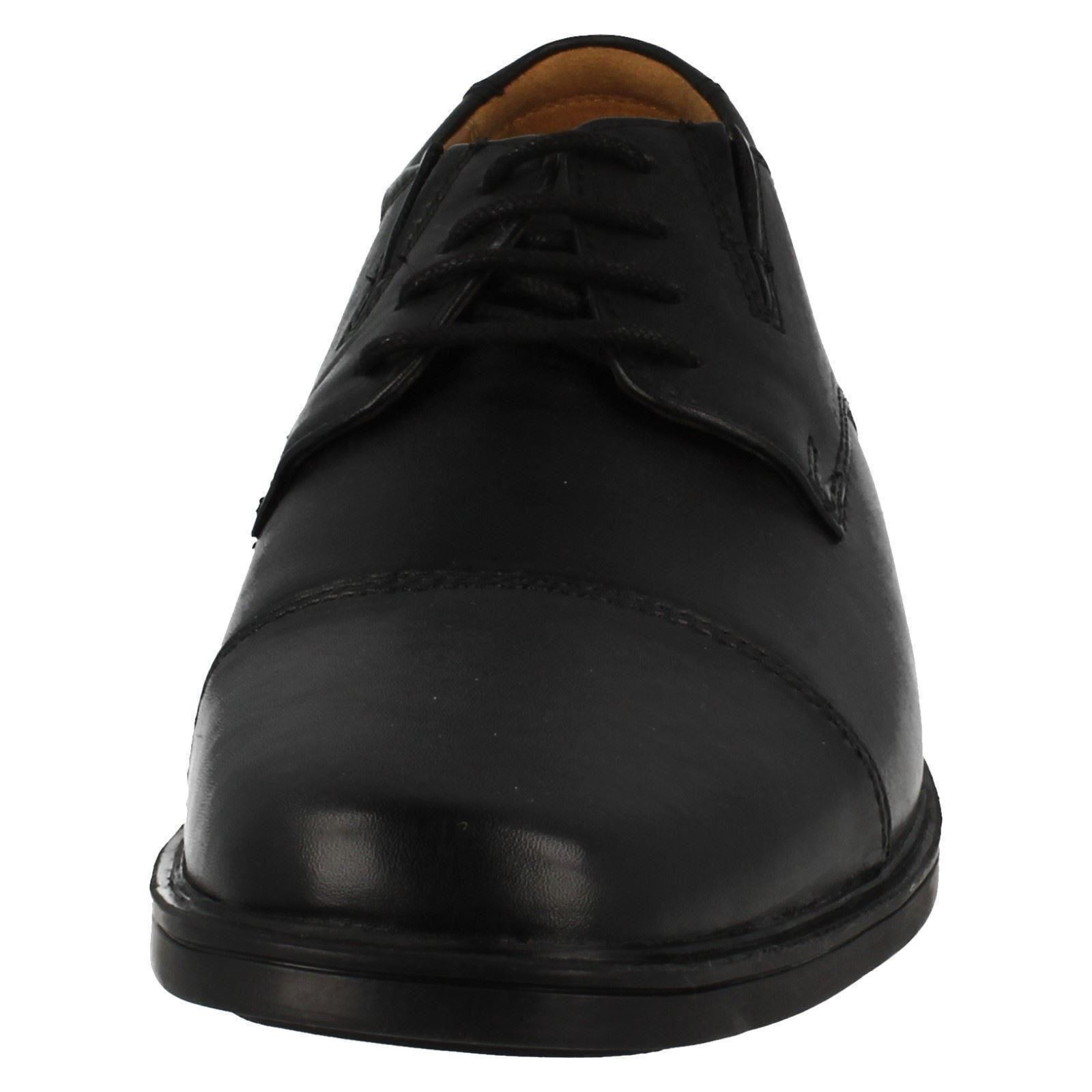 Mens-Clarks-Formal-Lace-Up-Shoes-Tilden-Cap thumbnail 8