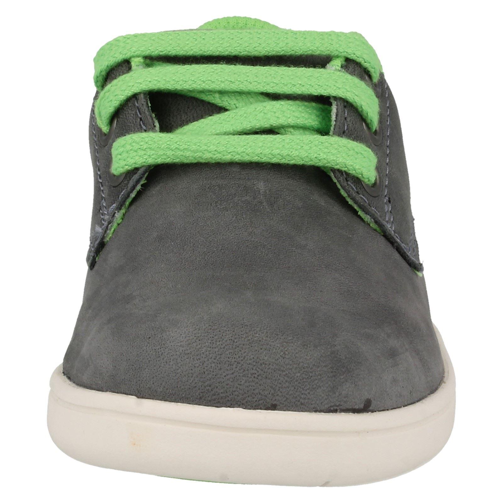 Chicos Clarks Zapatos Informales con Cordones Holbay Divertido