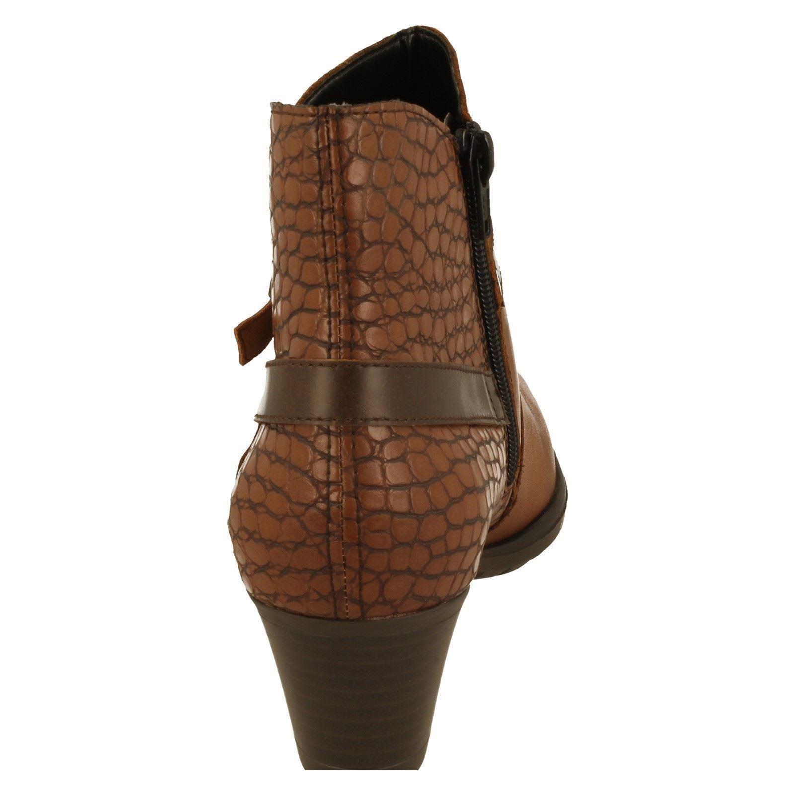 REMONTE botas al tobillo tobillo tobillo señoras-D3186 76af83