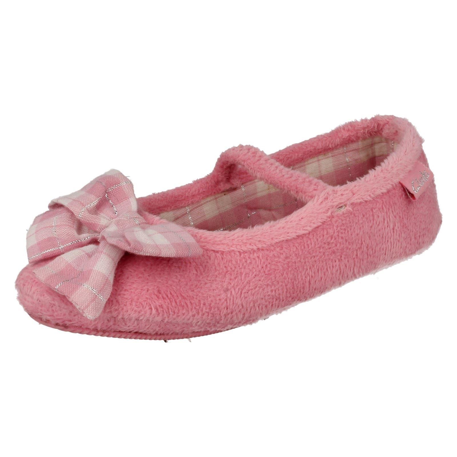clarks girls slippers