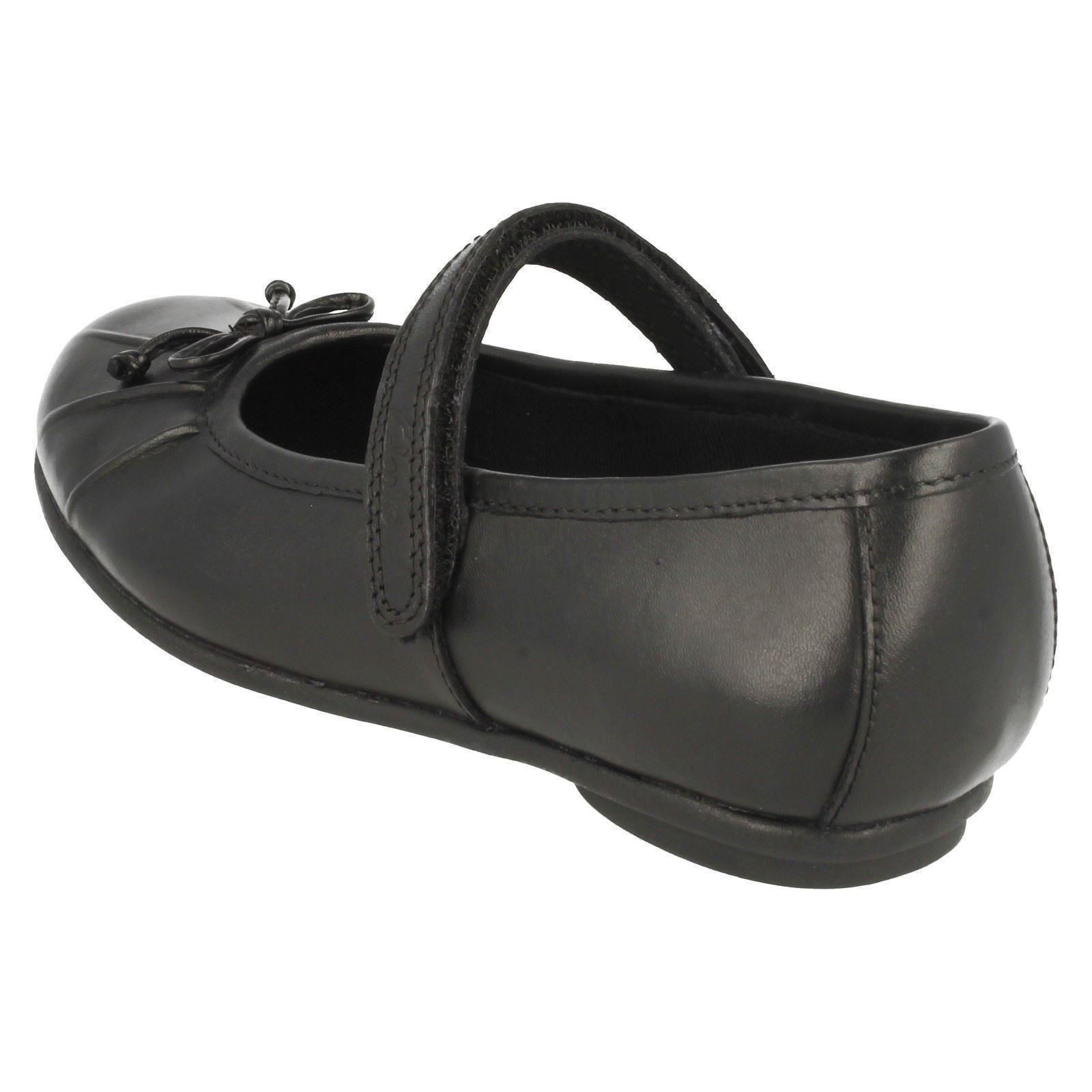Girls Clarks Leather School Shoes Tasha Ally