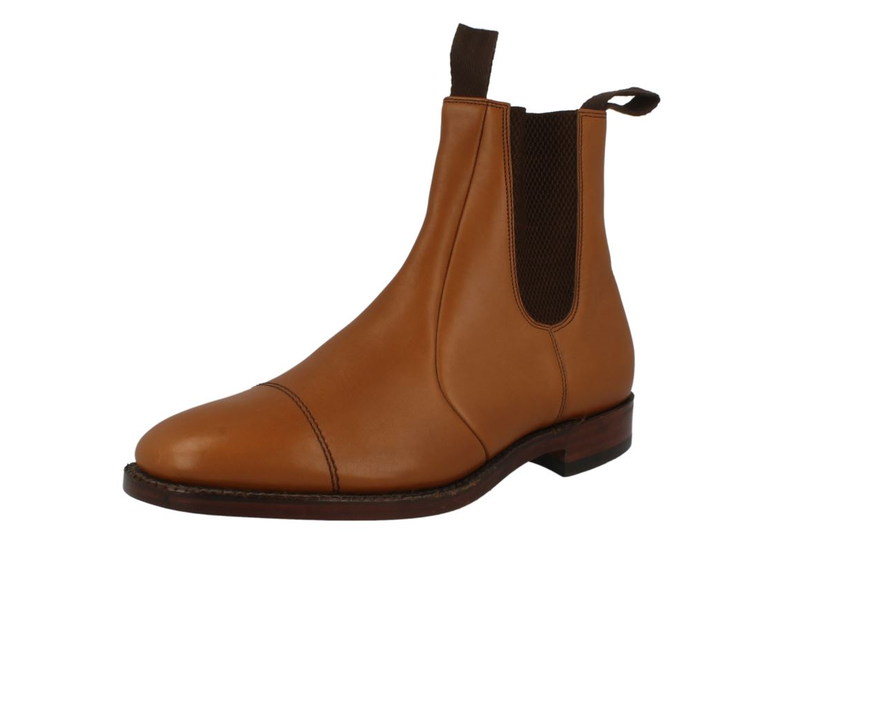 Mens Loake Leather Chelsea - / Dealer Style Boots - Chelsea Newbury 828138
