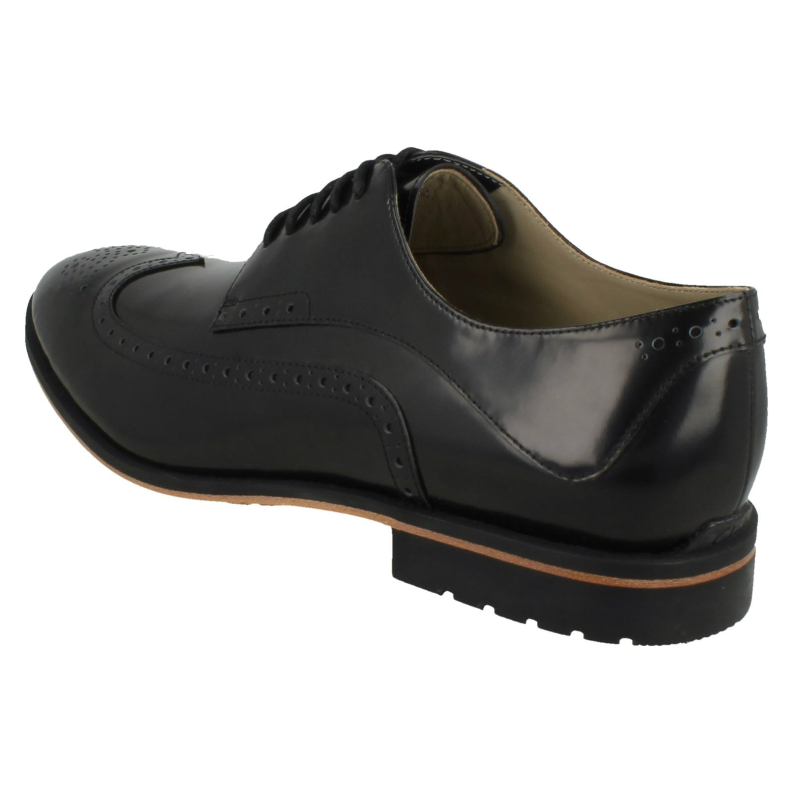 Smart Negro Limit' 'gatley Brogues Hombres Clarks 6wa5Y