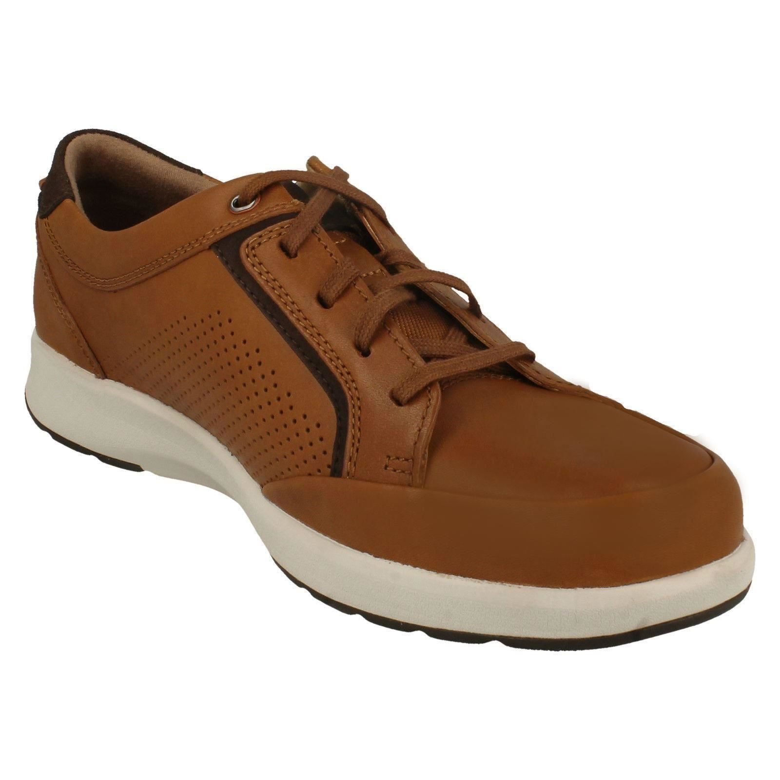 Un Shoe clarks Trail Casual Up Form Mens Lace Tan brown wHXfxIdqqP