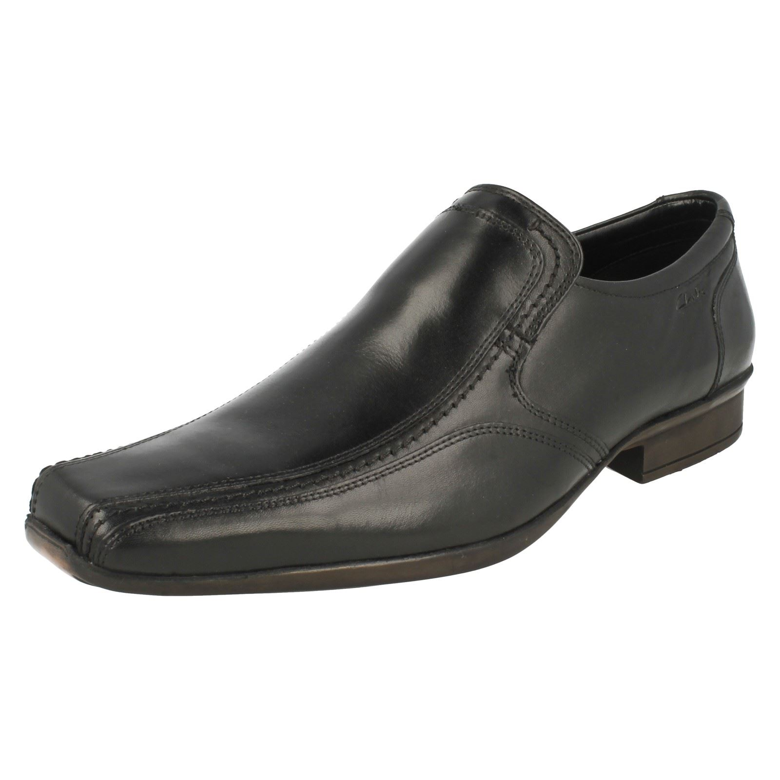On Slip nero Uomo Formal Clarks scarpe Affix Step HPxUqvwz1