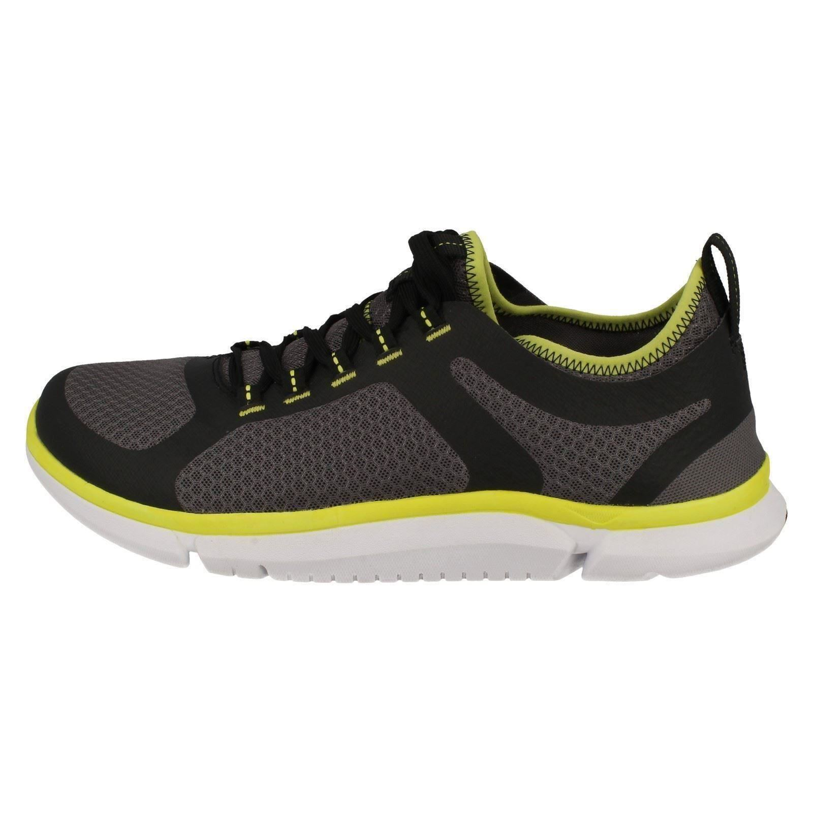 Mens Clarks Casual Trainers Triken Active