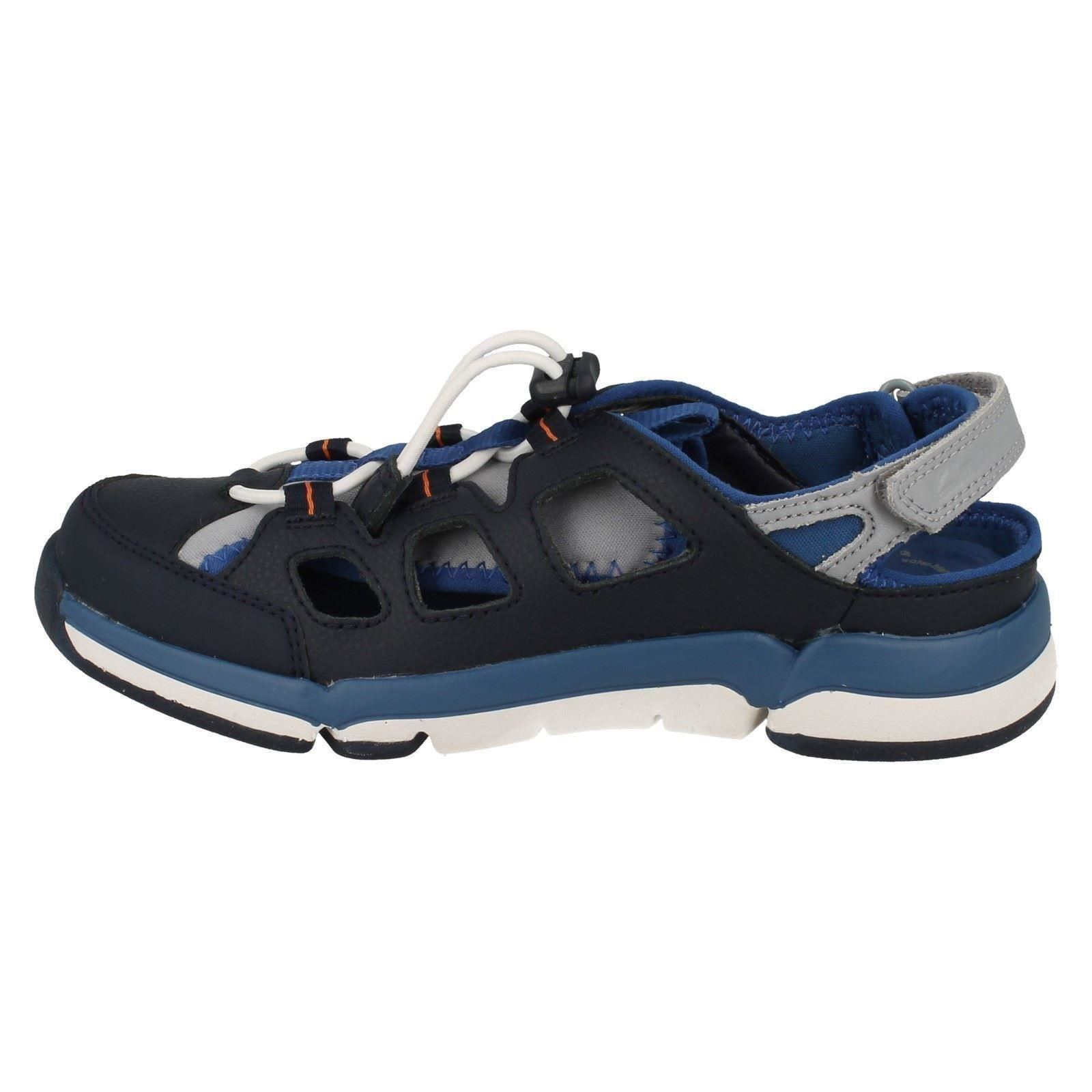 Magic Boys Clarks blu Tri Sandali Sandali IP8wzqSxn