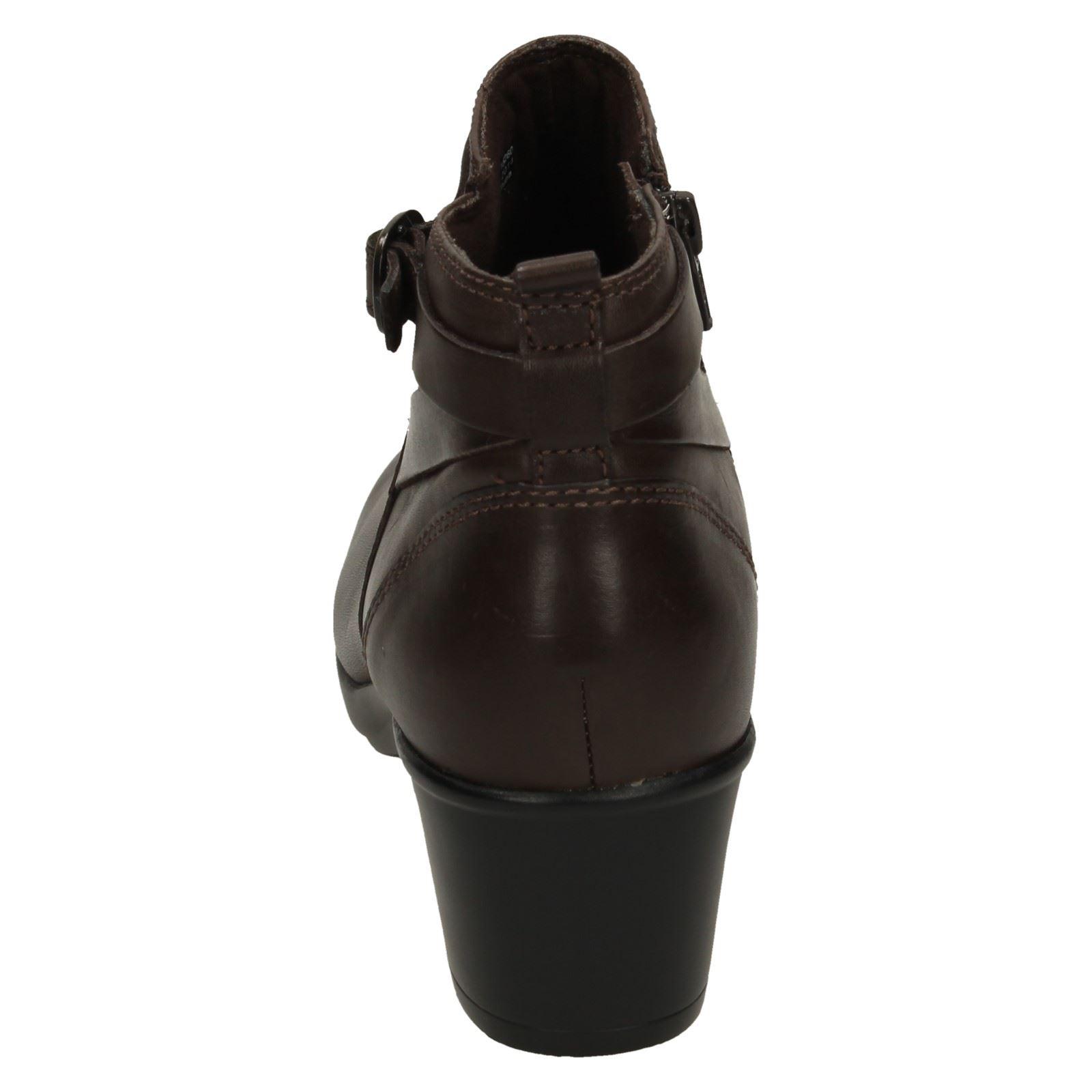 ead3bf94824 Ladies Clarks Low Heel Ankle Boots  Malia Hawthorn
