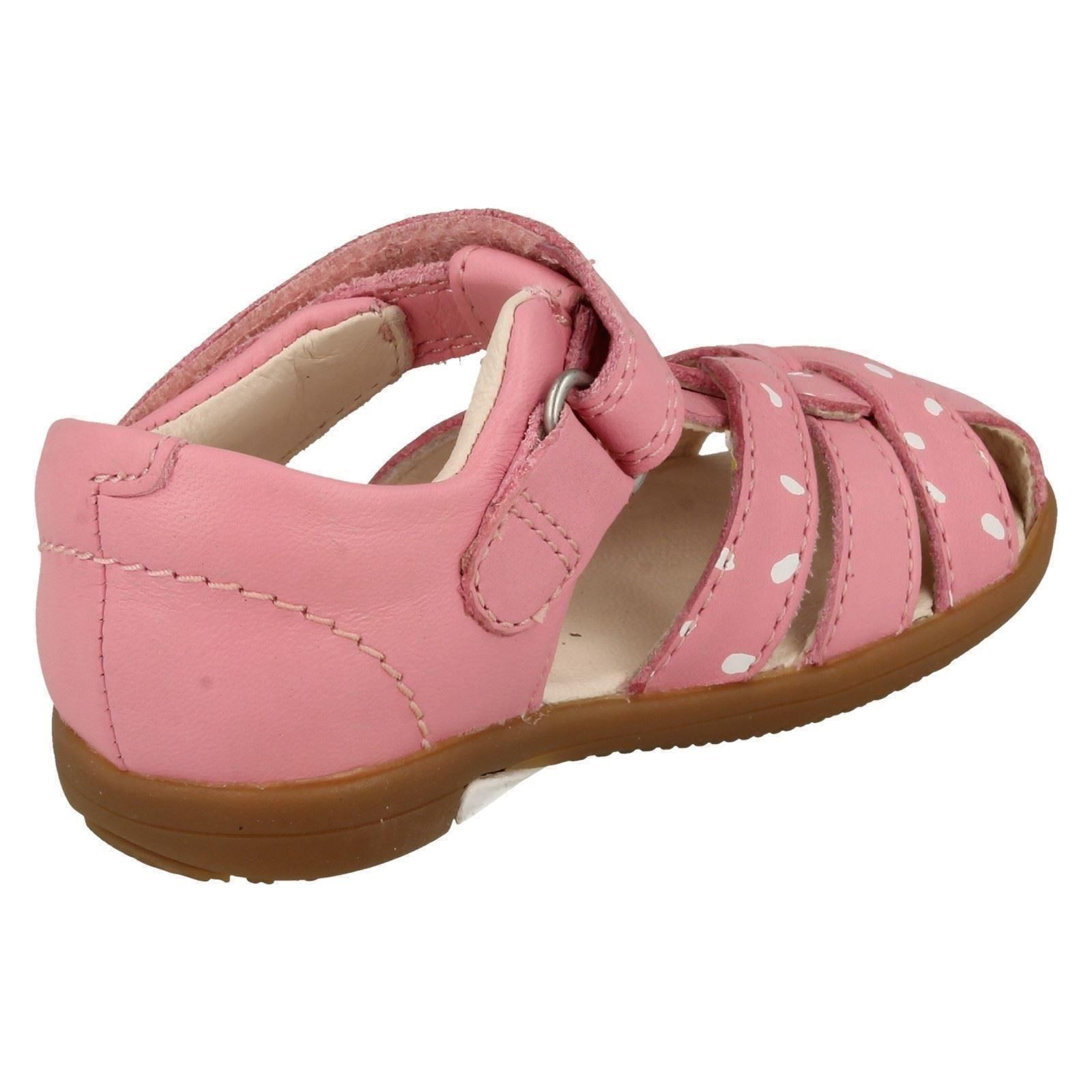 17f786d1b2a4 Girls Clarks First Shoes Closed Toe Summer Sandals  Softly Mae