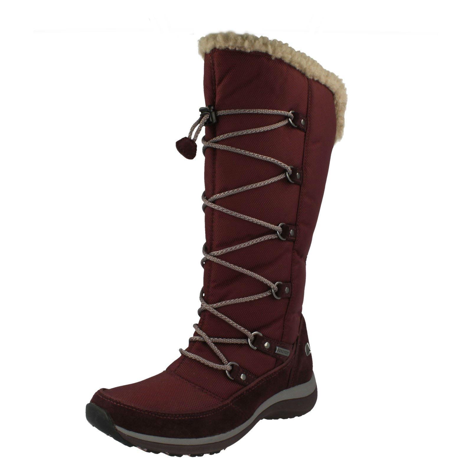 Femmes CLARKS WALK TO Hi hauteur de Mollet Mollet Mollet Gore-Tex Boot | Livraison Immédiate  f5120e