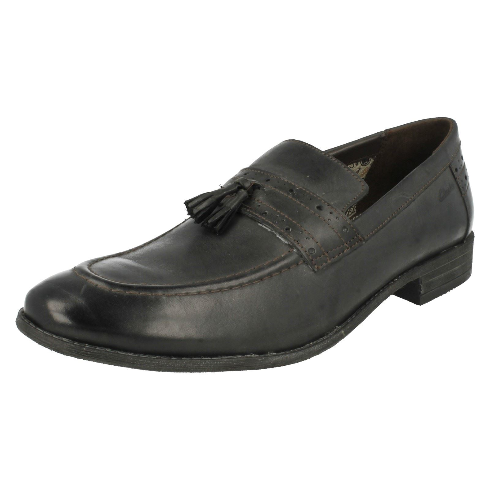 Details about Clarks Mens Formal Loafer Shoes Chart Lift