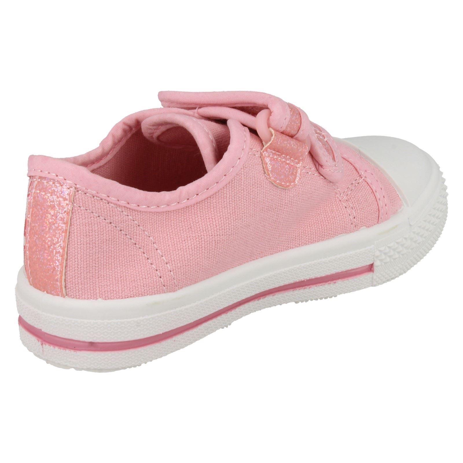 Girls Character Disney Canvas Shoes - 'Princess Castile'