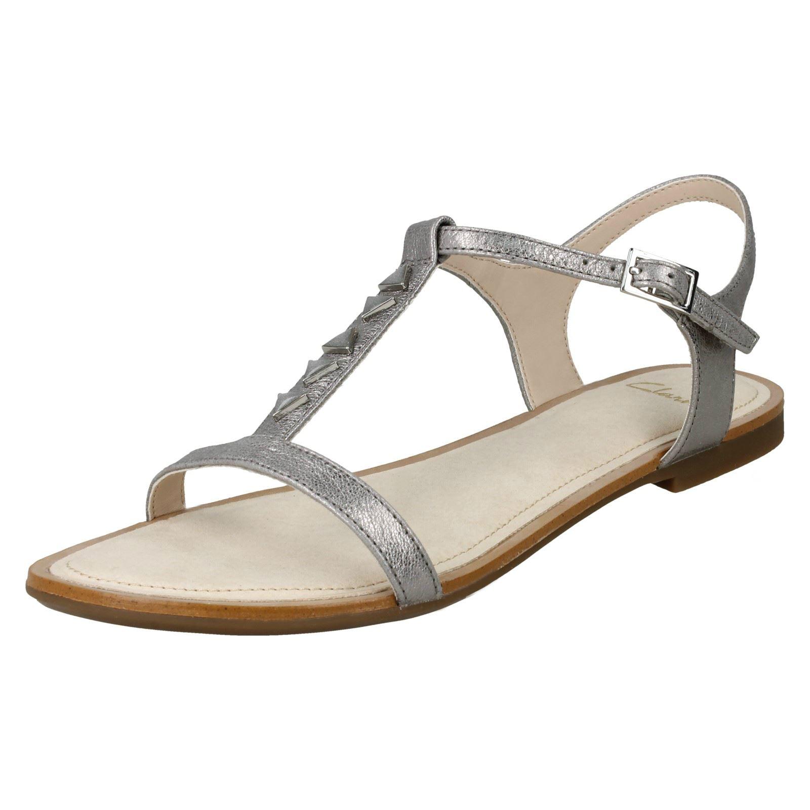 Details zu Damen Clarks Sandalen Segeln Strand