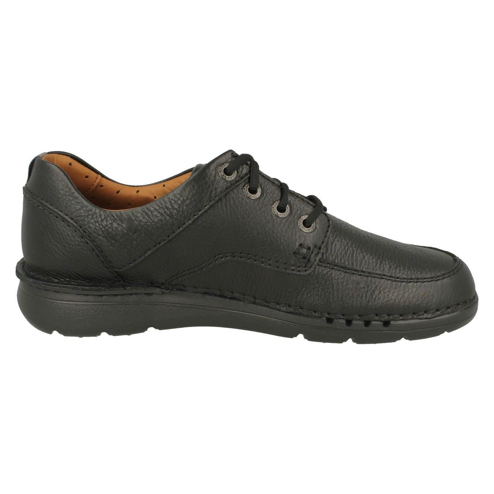 Da Uomo Clarks Casual Con Lacci Scarpe Sportive-tempo unnature unnature unnature 856559