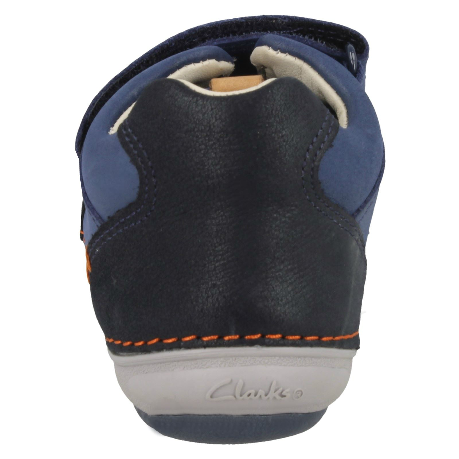 Infant Boys Clarks First Shoes Casual Hook & Loop Leather ...