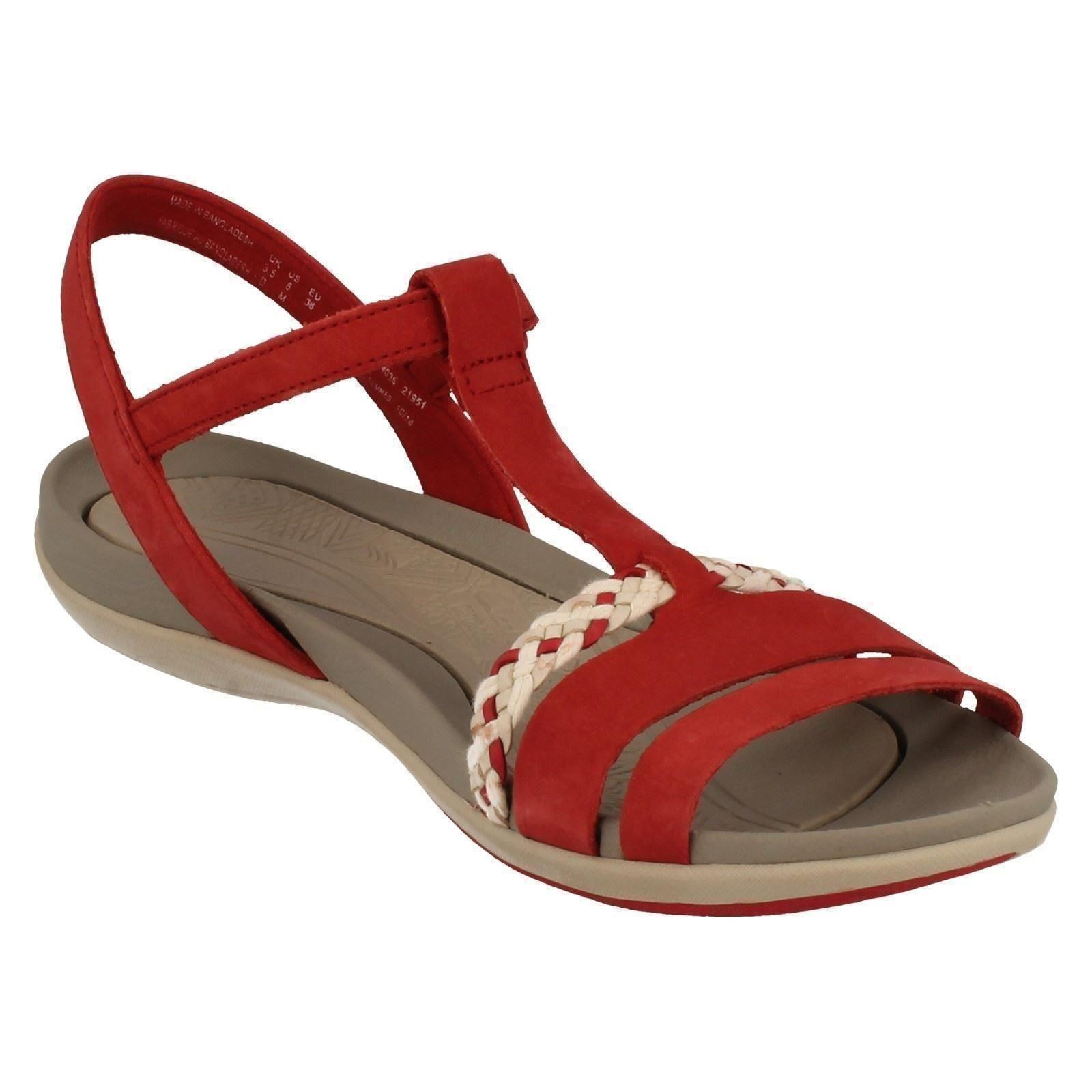 6cedd2662eb Ladies-Clarks-Casual-Summer-Sandals-Tealite-Grace thumbnail 12