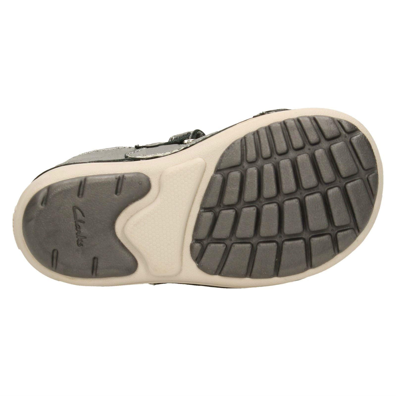 Lou Niña Zapatos Primeros Softly Informal Clarks Calzado 18Ynrwq8E