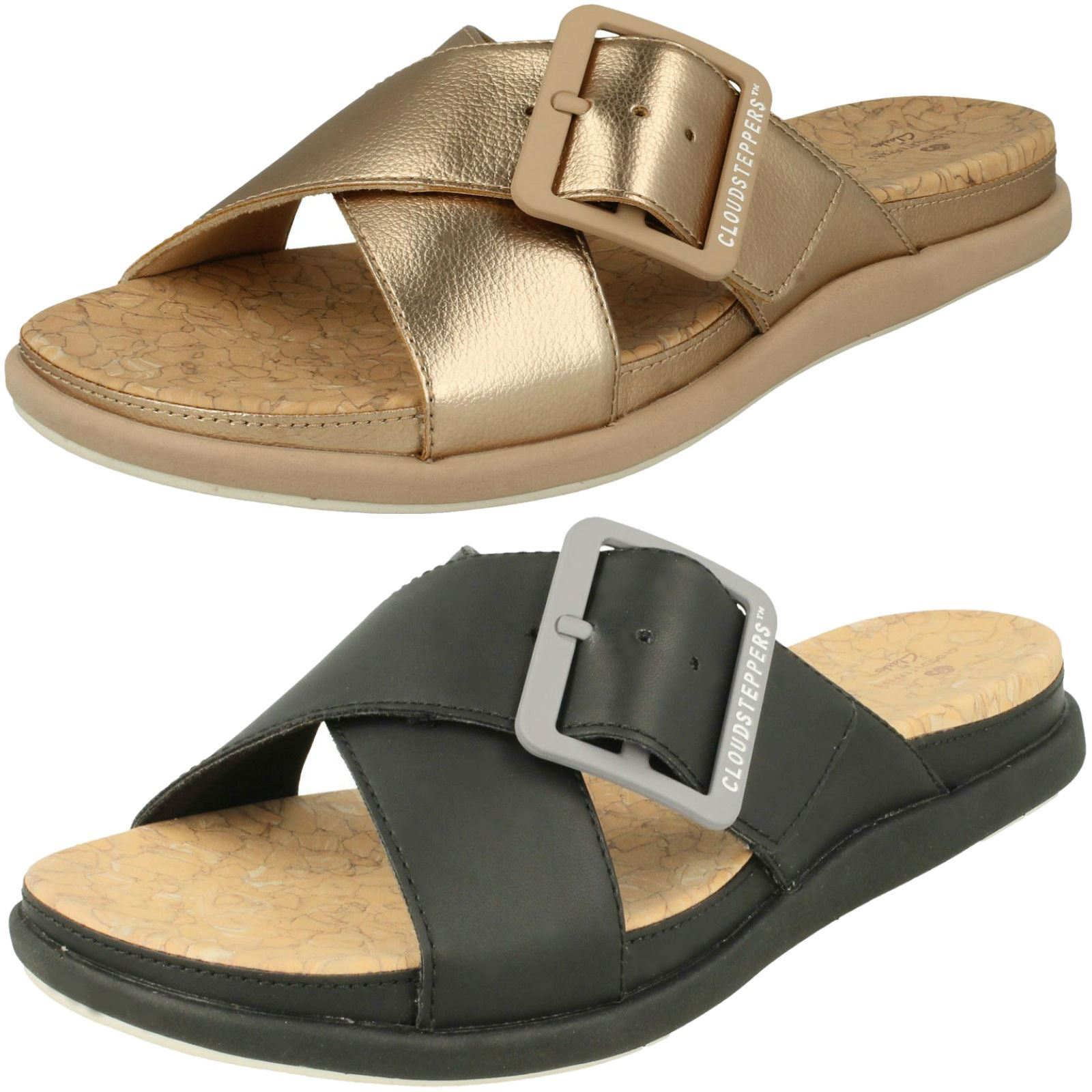 Clarks Mule Sandals Step June Shell