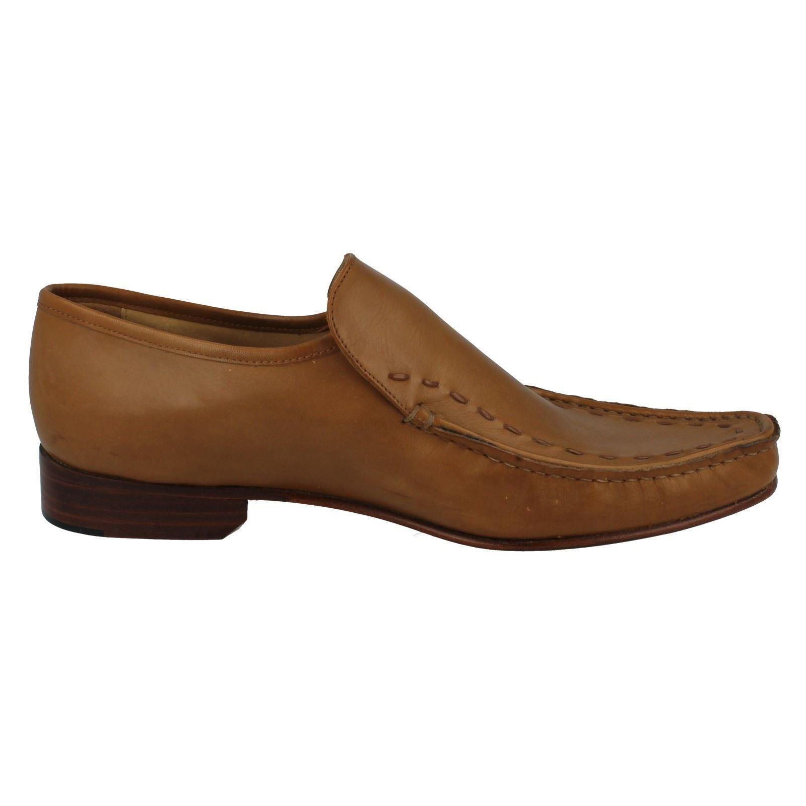Herren Grenson FeatherMaster By Grenson Herren Formal Moccasin Schuhes Maine 36b698