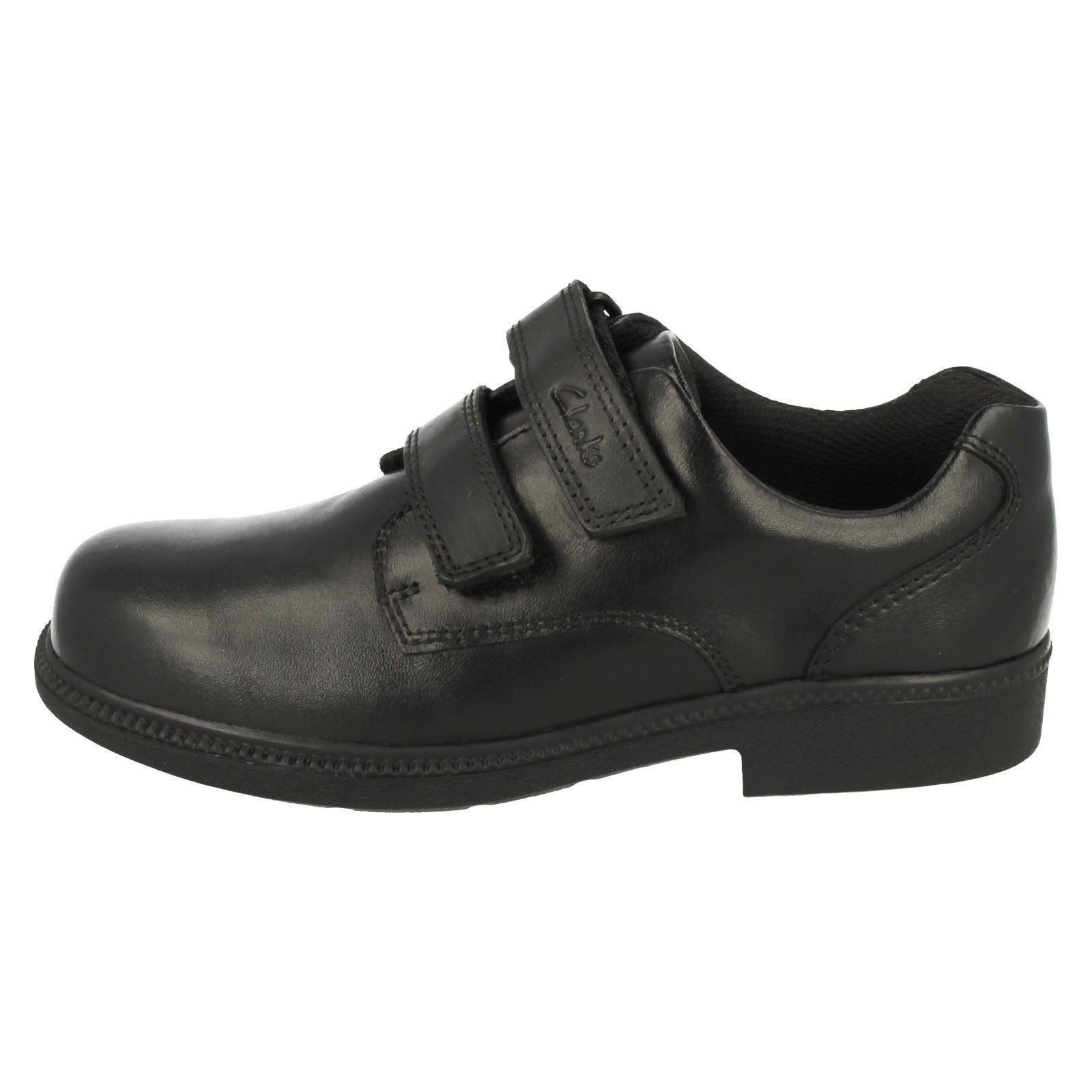 Chicos Clarks Zapatos Escolares Inteligente Puerta Deaton